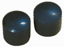 Retro Parts - Metal Knobs 2Pk Black