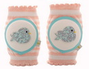 CRAWLINGS Turquoise Birdy Knee Pads