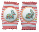 CRAWLINGS Cherry Pink Rabbit Knee Pads