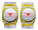CRAWLINGS Yellow Bandage Knee Pads