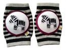 CRAWLINGS Zebra Knee Pads