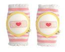 CRAWLINGS Pink Bandage Knee Pads