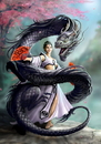 Starlinks AN63 Dragon Dancer Card (6 Pack)  By Anne Stokes