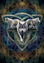 Starlinks AN93 Wolf Trio Card - 6 Pack