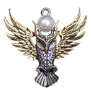 Starlinks BB12 Owl of Athena For Magickal Wisdom Pendant by Briar