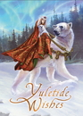 Starlinks BY24 Queen of the Aurora Bears Yuletide Wishes Cards - 6 Pack