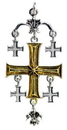 Starlinks KT9 KT9 Jerusalem Cross for the True Seeker of Worldly and Spiritual Riches
