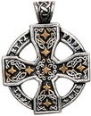 Starlinks NLCC03 Runic Celtic Cross Pendant for Knowledge and Magical Ability