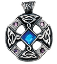 Starlinks NLMD18 Celtic Cross Pendant for Inspiration and Intuition