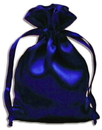 PS12 Royal Blue Satin Pouches (12 pcs)