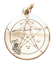 Starlinks Star Charms SCA101 Pentacle of Eden Charm for Winning a Lover's Heart