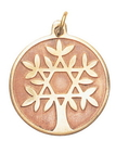 Tree of Life Charm for Knowledge and Wisdom