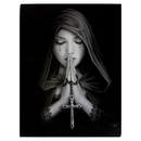 Starlinks WP102AS Gothic Prayer Canvas Print By Anne Stokes