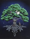 Starlinks WP340LP Tree of Life Canvas Art Print by Lisa Parker