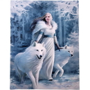 Starlinks WP556AS Winter Guardian Canvas Print By Anne Stokes