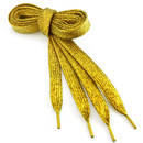 TopTie Metallic Lurex Flat Shoelaces Fashion Bling Shoelaces