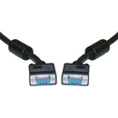 LINDY 21I2-31236 25ft, SVGA Cable, HD15, Male to Male, Ferrite Core