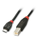 LINDY 31953 USB cable Micro A/B, 3m