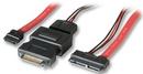 LINDY 33675 Internal Micro SATA Cable, 0.5m