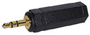 LINDY 35531 3.5mm Stereo Jack Male to 6.3mm Stereo Jack Female Audio Adapter