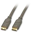 LINDY 41041 Mini HDMI to Mini HDMI Cable, 1m