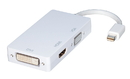 LINDY 41050 Mini DisplayPort to HDMI/DVI/VGA Adapter