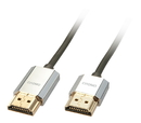 LINDY 41671 1m CROMO Slim High Speed HDMI Cable with Ethernet
