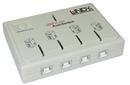 LINDY 42904 USB Switch - USB 2.0 AutoSwitch, 4 Port