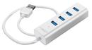 LINDY 43152  USB 3.0 Notebook Hub 4 Port