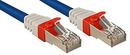 LINDY 45375 2m CAT6a SSTP LSOH Network Cable, Blue