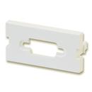 LINDY 60527 Snap-in Blank VGA Block, 4 Pack