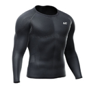 LP L230Z Shoulder Support Long Sleeve Compression Top Black