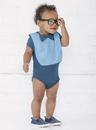 Rabbit Skins 1002 Infant Baby Rib Bow Tie Bib