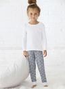 Rabbit Skins 202Z Toddler Baby Rib Pajama Pant