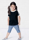 Rabbit Skins 3032 Toddler Retro Ringer Tee
