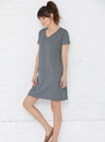 LAT 3522 Ladies V-Neck Cover-Up Dress