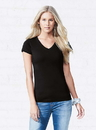 LAT 3607 Ladies Fitted V-Neck Tee