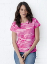 Code Five 3665 Ladies Camo Tee