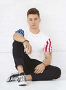 Code Five 3976 Adult Stars And Stripes Tee