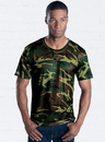 Code Five 3983 Mens Performance Camo Tee