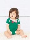 Rabbit Skins 4407 Infant Bow Tie Bodysuit