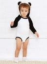 Rabbit Skins 4418 Infant Long Sleeve Bodysuit W Ears
