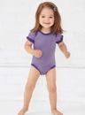 Rabbit Skins 4429 Infant Ruffle Bodysuit
