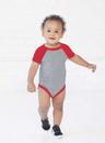 Rabbit Skins 4430 Infant Baseball Bodysuit