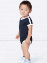 Rabbit Skins 4432 Infant Retro Ringer Bodysuit