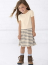 Rabbit Skins 5323 Toddler Baby Rib Dress