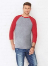 LAT 6930 Mens Baseball Tee