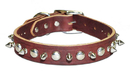 1-Ply Spiked & Studded Latigo Collar(3/4