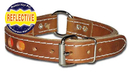 2- Ply Leather Reflecto Collars(1