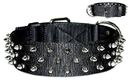 Protector Full Spiked Nylon Collar(Dee-in-Front)